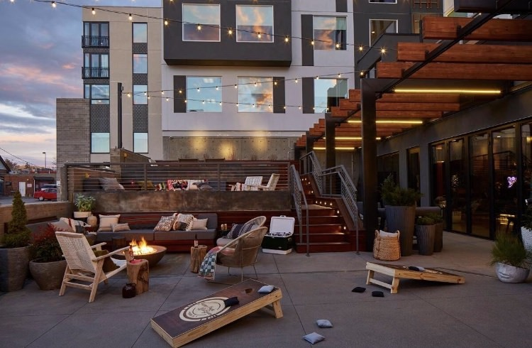 Cherry Creek Beer Garden Opens at the Moxy Denver Cherry Creek